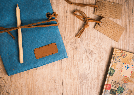 Diary-Travel Flatlay Ideas-Pune Prop Store