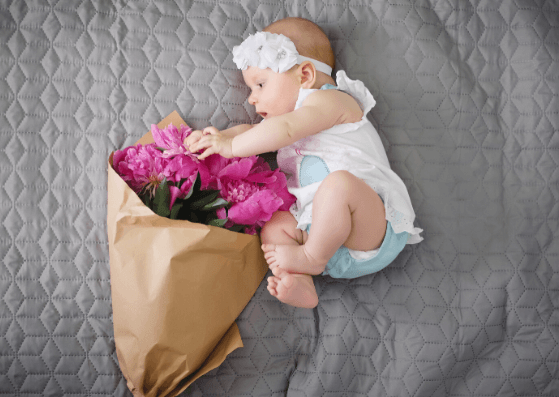 Flowers-Baby Photography Props Ideas-Pune Prop Store