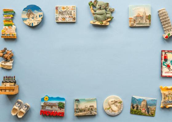 Souvenirs-Travel Flatlay Ideas-Pune Prop Store